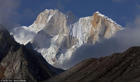 Mountain Climbing In The Himalayas