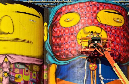 70 Ft Silos Into Colorful Giants By Painted Murals