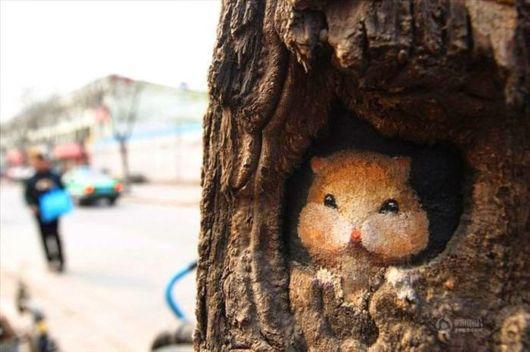 Instead of Street Art - Tree Art