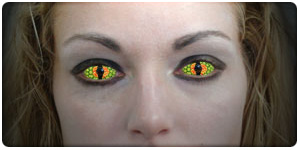 Crazy Contact Lenses For Halloween