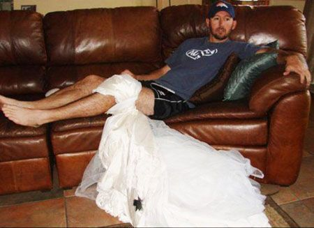 Funniest Uses For An Ex-Wife's Wedding Dress