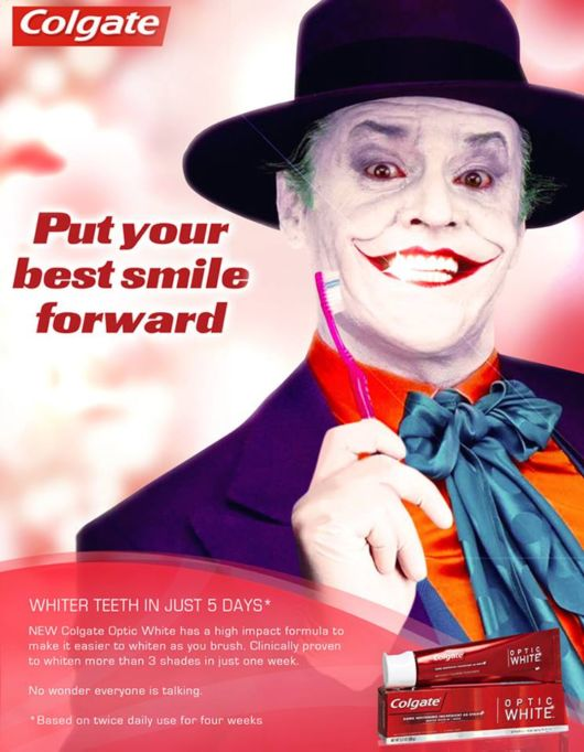 Superheroes And Villains Endorsing Products