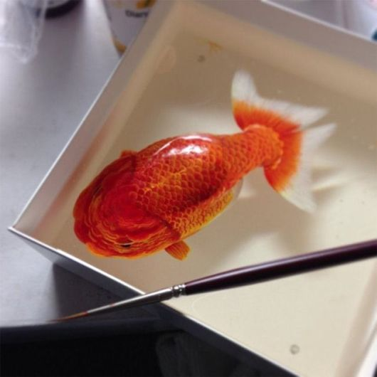 Animals Swimming Unbelivable Paintings