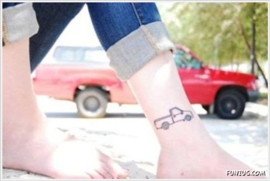 Coolest Micro Tattoos