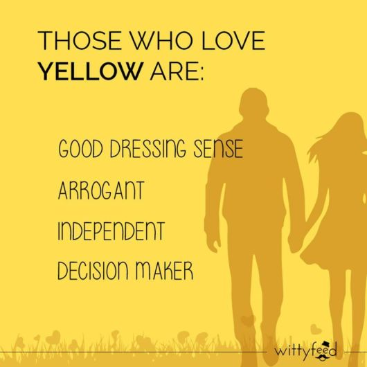 What Your Favorite Color Says About You