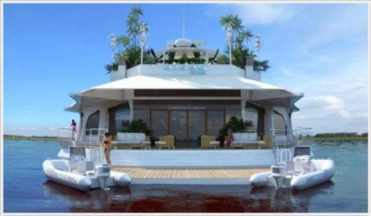 Orsos - Unique Futuristic Floating Island