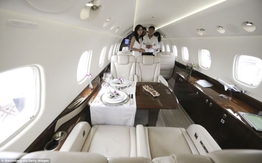 The Jetplanes Of The Super Rich