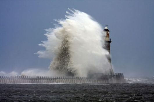 Lighthouses And Monster Waves
