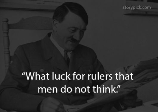 10 Quotes From Adolf Hitler?s Autobiography