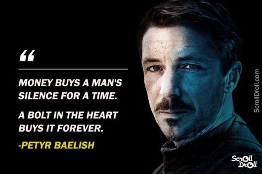 Most Memorable Quotes From Game Of Thrones | Funzug.com