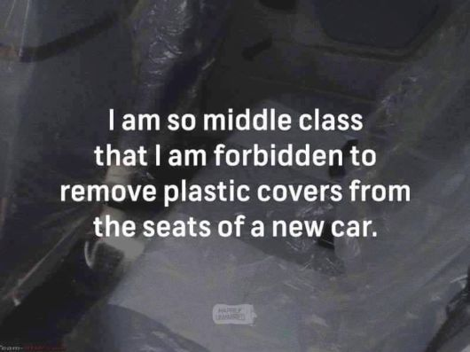 Be Happy To Be A Middle Class