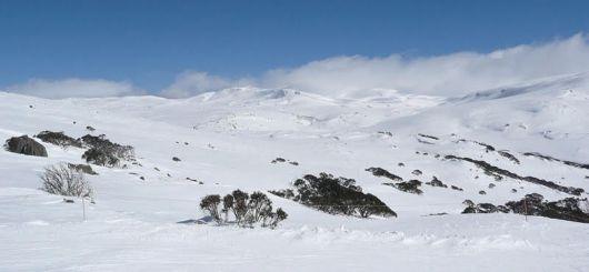 Beautiful Snowy Mountains Of Australia
