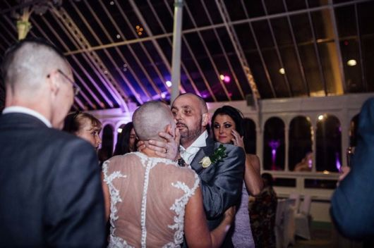 Bride Decided To Shave Her Head To Support Her Terminally Ill Groom