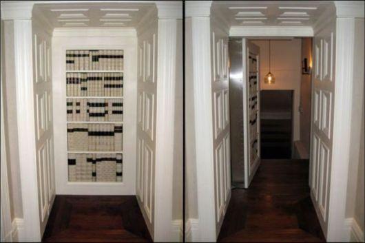 The Hidden Room Trap Door Builti-in-wall Designs