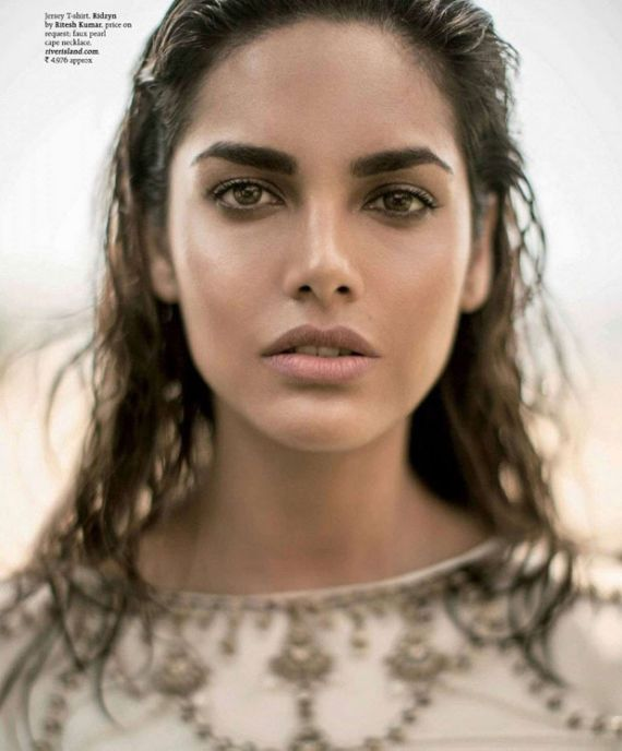 Esha Gupta Gracing Up Grazia Magazine