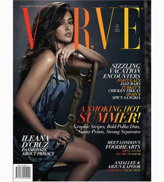 Ileana DCruz Shoots For Verve Magazine