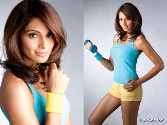 Bipasha Basu Shoots For A Fitness Calendar