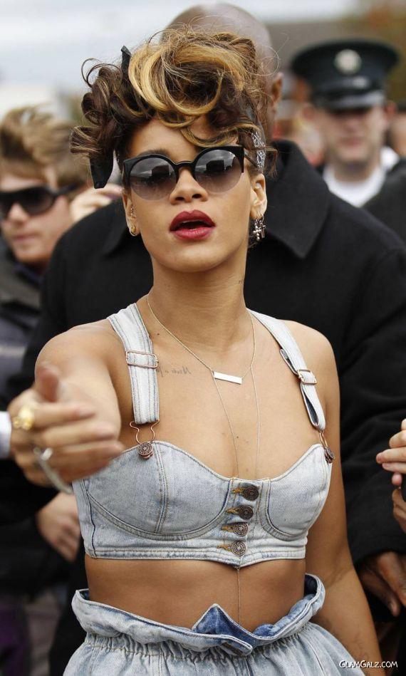 Rihanna Filming in Belfast Ireland