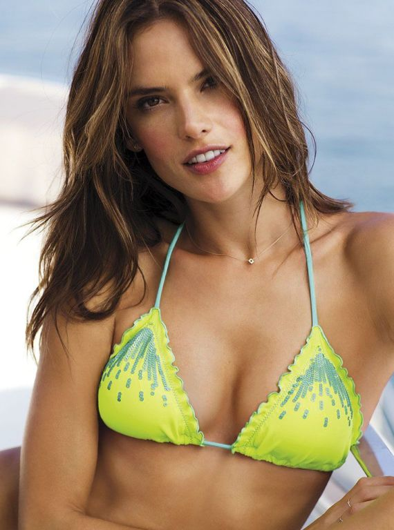 Alessandra Ambrosio For Victorias Secret Collection