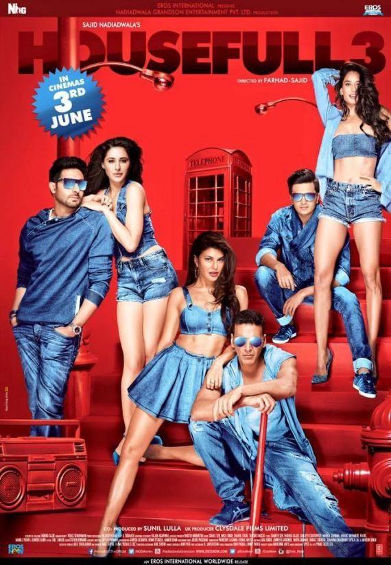 Housefull 3 Cast Enjoys At The Film's Trailer Launch