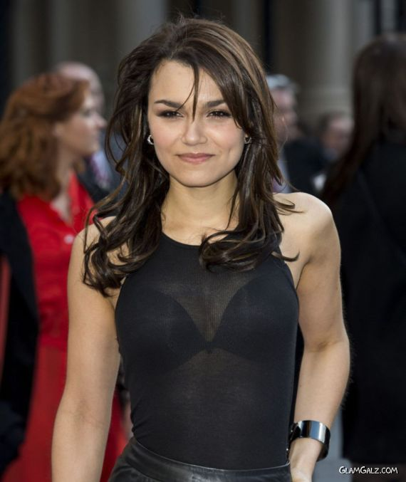 Samantha Barks At Iron Man 3 Premiere