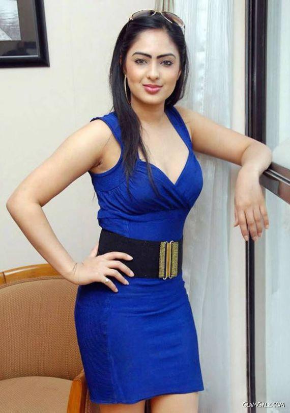 Beautiful Nikesha Patel In Blue