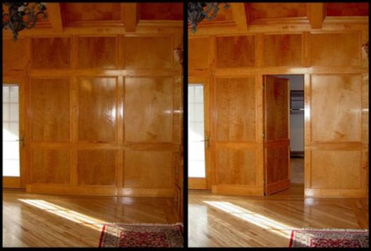 The Hidden Room Trap Door Builti-in-wall Designs