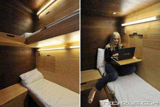 Amazing Cabin Home Sleepboxes