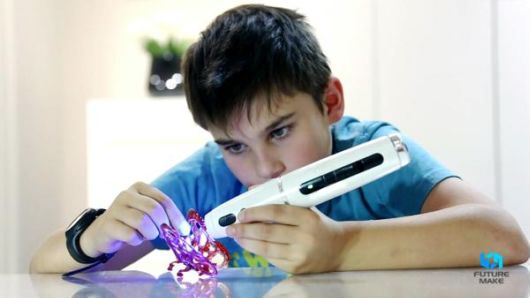 Child-Safe 3D Sketching Printing Pen