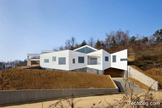 Amazing Panorama House In South Korea