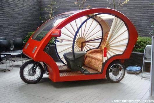 Japanese Cyclo Electronic Rikshaw
