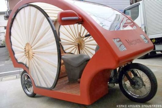 Japanese Cyclo Electronic Rikshaw